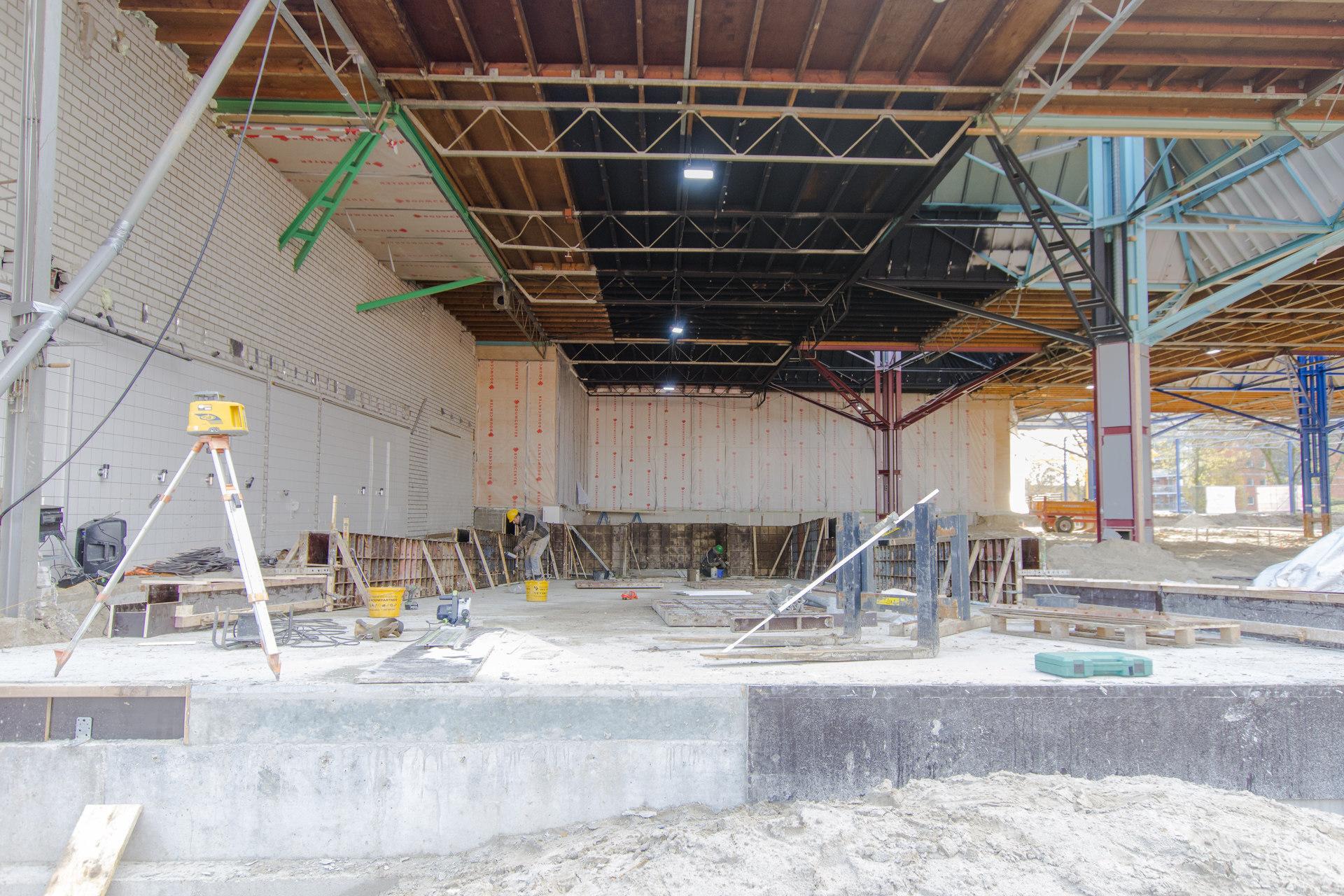 Verbouwing van het Karregat. Sloop week 7.