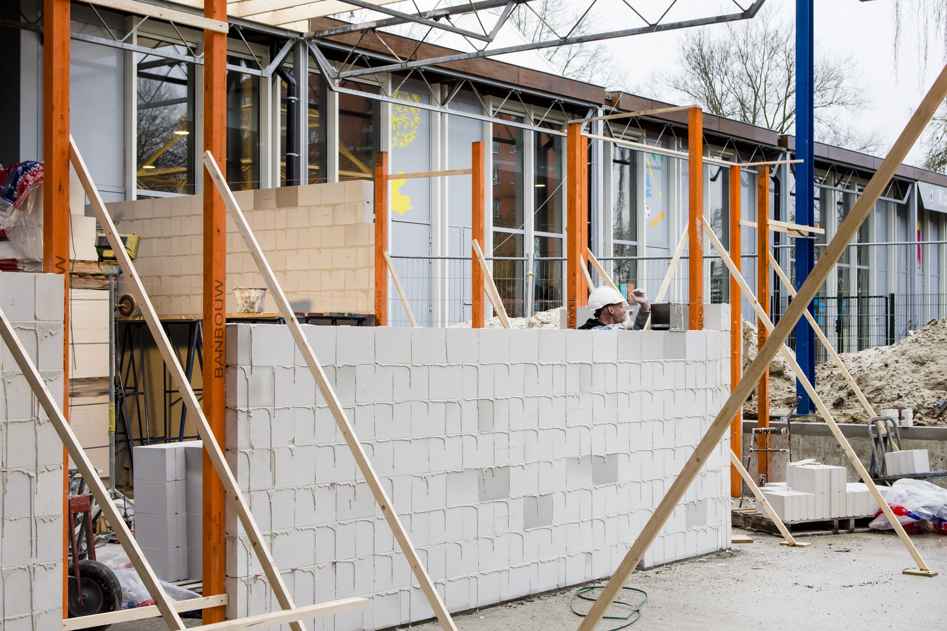 Verbouwing Karregat. Voortgang 200110-191227