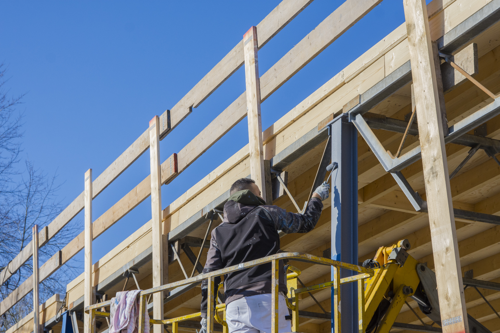 Verbouwing van het Karregat. Nieuwbouw week  5 en 6.