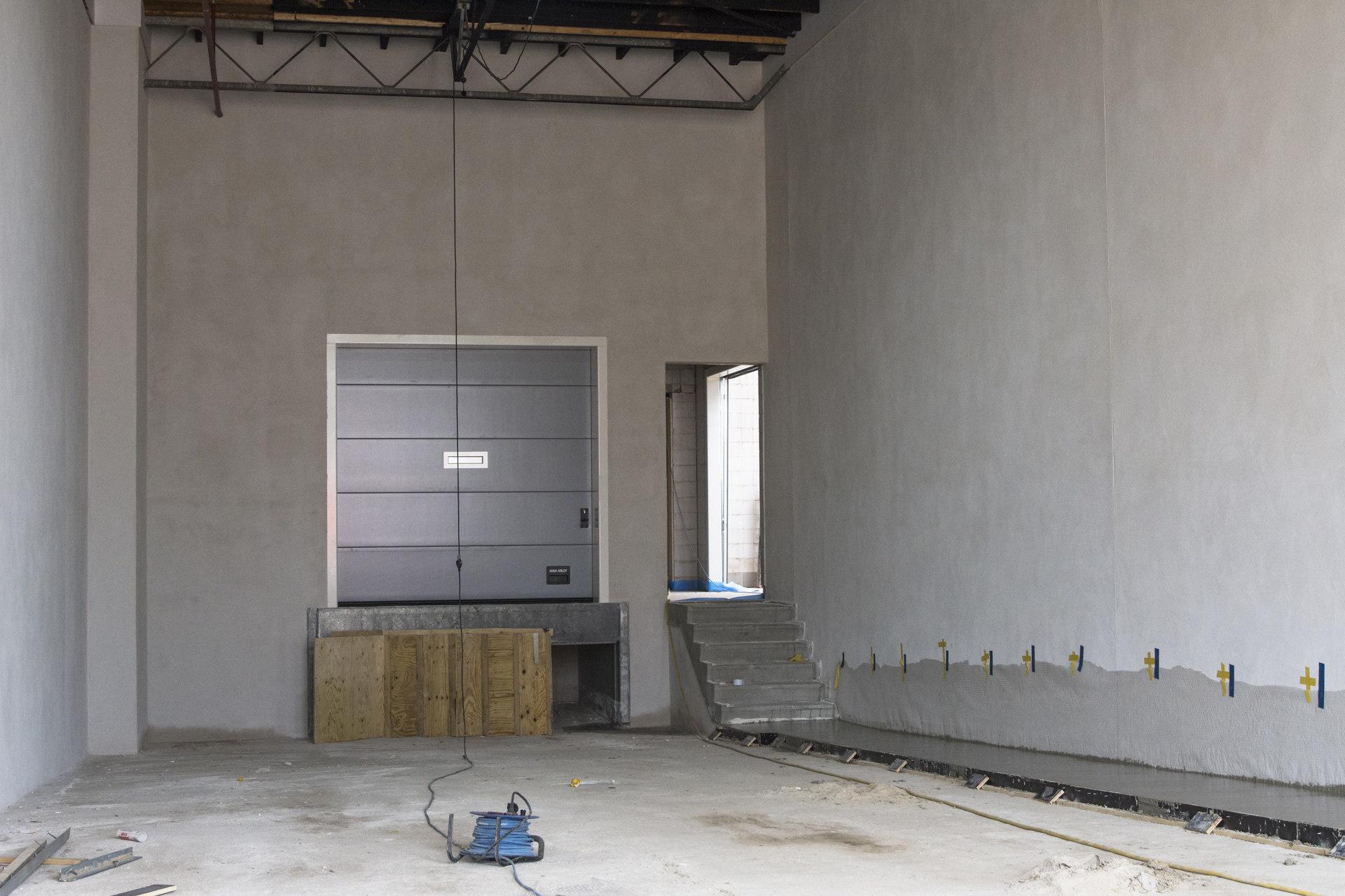 Verbouwing van het Karregat. Nieuwbouw week 14.