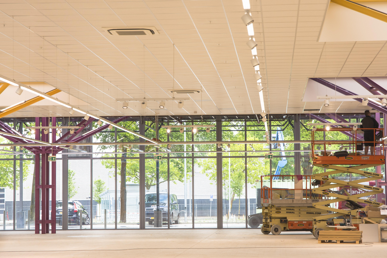 AWLD Fotografie. Reportage verbouwing van het Karregat. Nieuwbouw week 23.