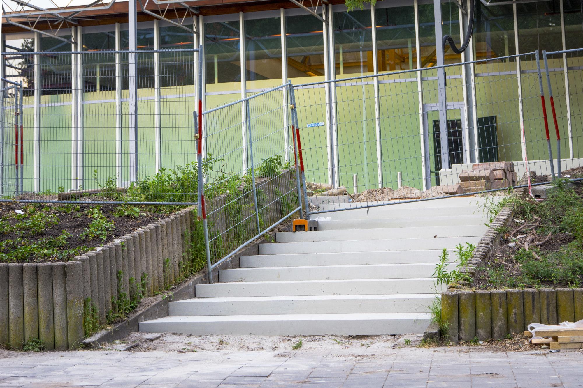 AWLD Fotografie. Reportage verbouwing van het Karregat.Nieuwbouw week 23.