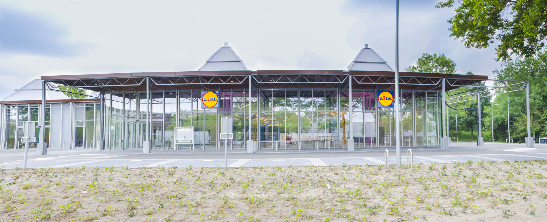 AWLD Fotografie. Reportage verbouwing van het Karregat. Nieuwbouw week 24.